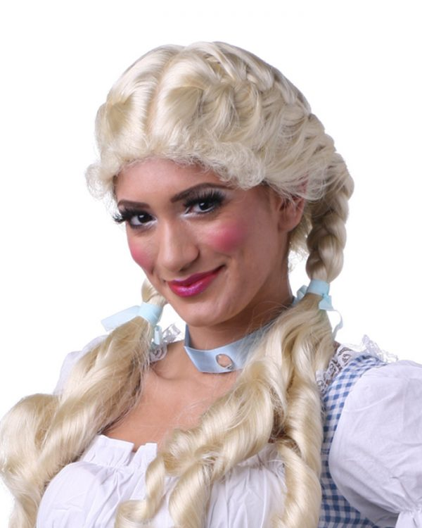 Braided Long Curly Dorothy By Sepia Costume Wigs