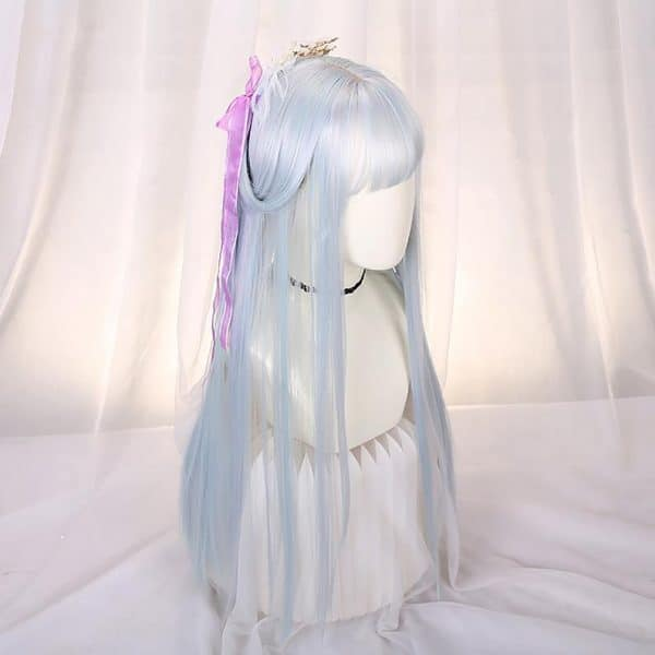 Long Straight Jewel Tones Wigs, Theme Party Wigs And Lolita Princess Cosplay Wigs