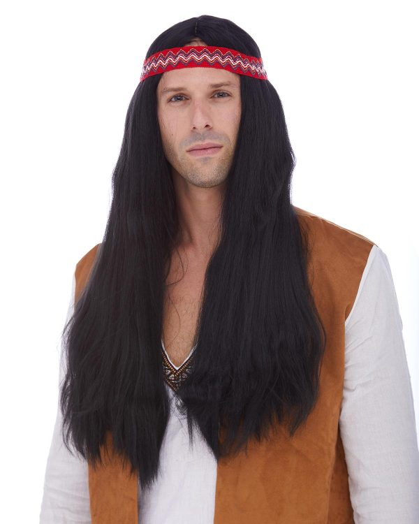 Long Stright Big Wigs Detachable Costume Wig By Characters For Women And Man