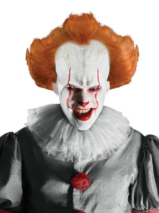 High Quality Pennywise Wig & Headpiece For Adults