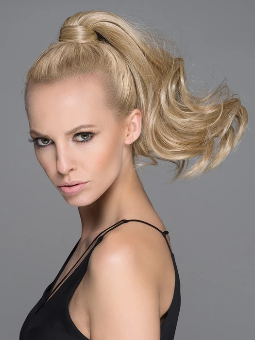 Women Long Blonde Hf Synthetic Ponytail Wrap-around