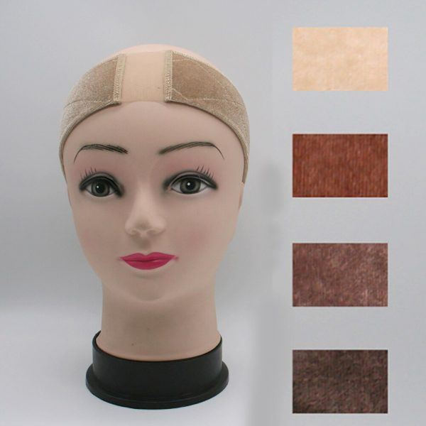 Non-slip Adjustable Comfort Hat With Elastic Velvet Clip Accessory