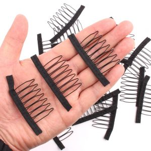 Best Clip For Wig Cap With 10pcs Wig Comb Wig