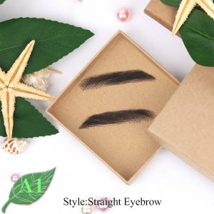 Eyebrows Jolie Style Female False Eyebrows Artificially Woven False Eyebrows