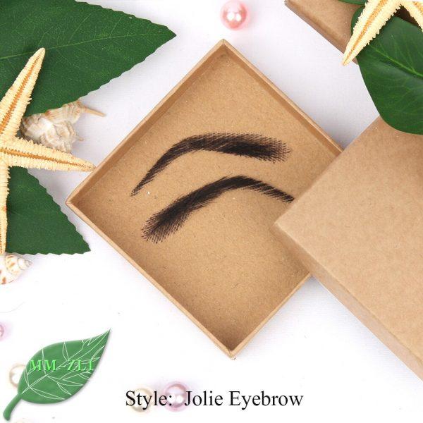 Eyebrows Jolie Style Female False Eyebrows Artificially Woven False Eyebrows