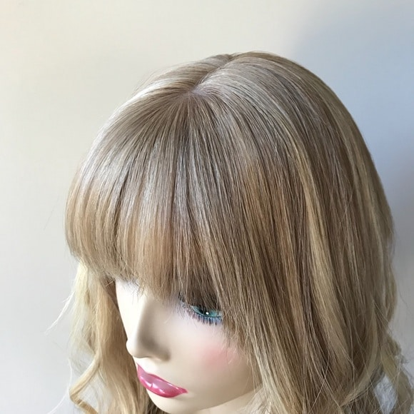 High-quality Wigs Toppers For Hair Loss With Bangs