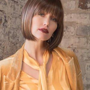 Straight Women Red Short Tori Short Synthetic Wig Basic Cap