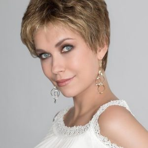 Women's Lexy Synthetic Blonde Short Lace Front Wigs By Rooted