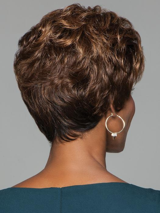 Women's Lexy Synthetic Blonde Short Curly Wigs By Rooted