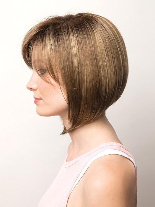 Women's Lexy Synthetic Blonde Monofilament Straight By Rooted