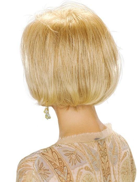 Short Straight Women Blonde Synthetic Wig Basic Cap