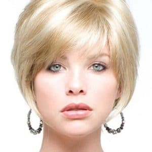 Women's Lexy Synthetic Blonde Short Straight By Rooted