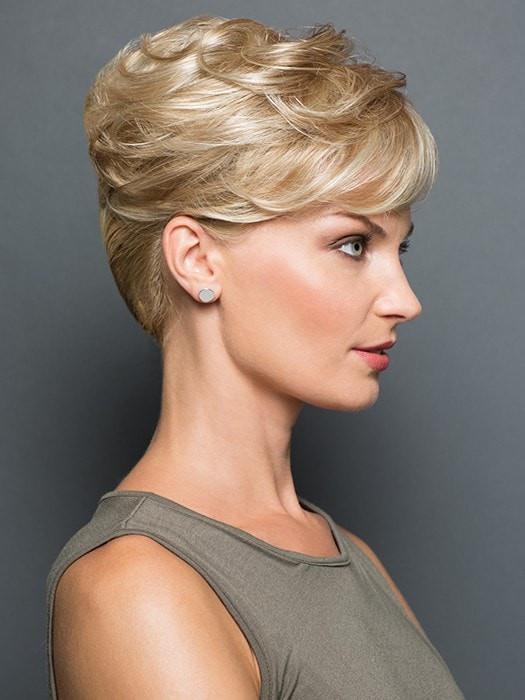 Women Short Blonde Falls & Half Synthetic Hair Topper