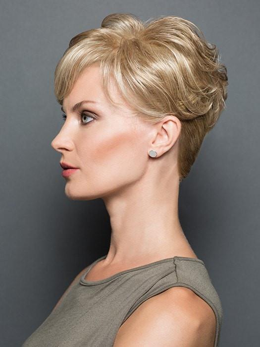Women Short Blonde Falls & Half Synthetic Hair Topper