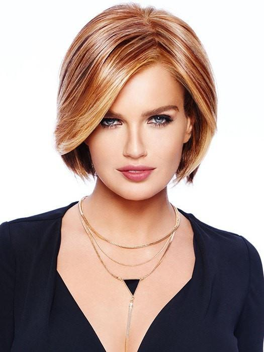 Women Straight Monofilament Synthetic Lace Front Wigmono Top By Rooted