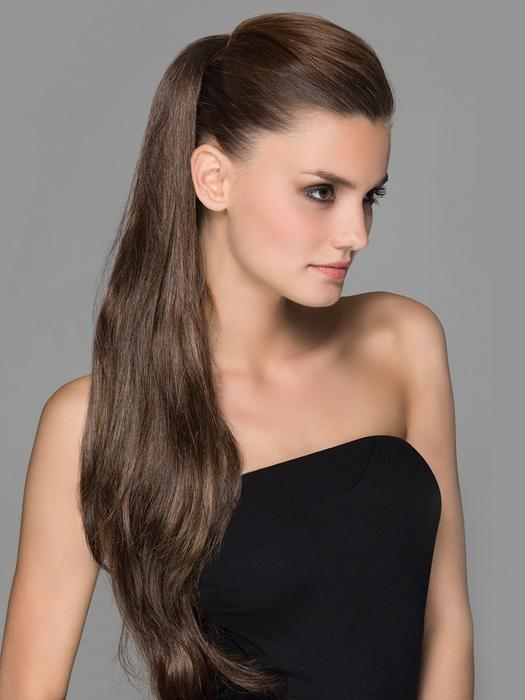 Long Women Blonde Wodka Synthetic Ponytail Clip In