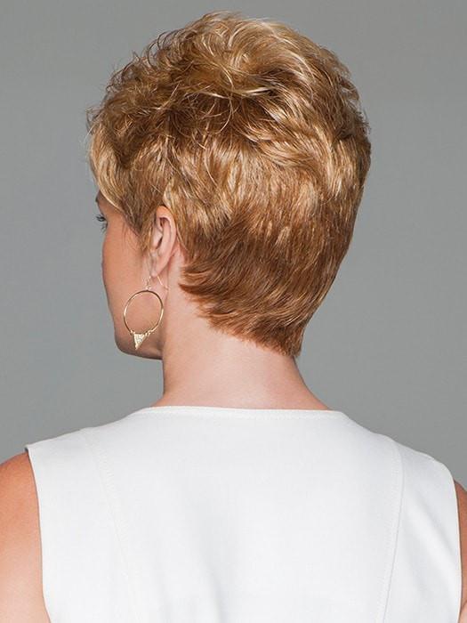 Short Short Pixie Women's Blonde Synthetic Wig Basic Cap