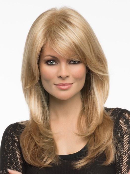 Women's Long Straight Monofilament Synthetic Lace Front Wig By Rooted