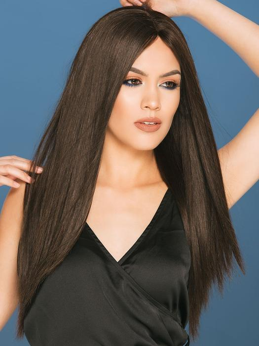 Women's Monofilament Remy Human Hair Lace Front Wig Hand-tied