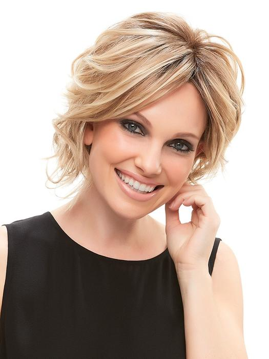 Short Women's Synthetic Synthetic Lace Front Wig Mono Top
