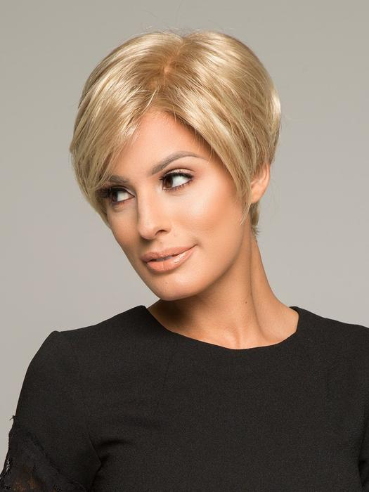 Women's Pixie Monofilament Hand-tied Synthetic Short Lace Front Wig