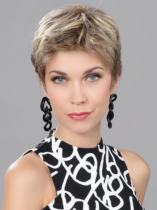 Women's Monofilament Human/Synthetic Hair Blend Lace Front Wig By Rooted