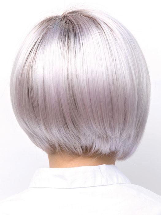 Short Kids' Blonde Straight Synthetic Lace Front Wig By Rooted