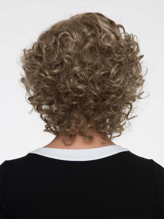 Women's Monofilament Human Hair/ Synthetic Blend Wig Mono Top
