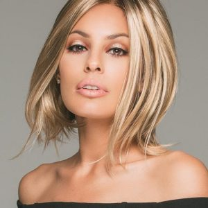 Women's Blonde Brunette Synthetic Monofilament Lace Front Wig