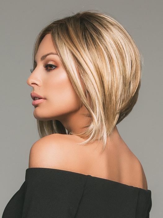 Women's Blonde Brunette Synthetic Monofilament Lace Front Wig