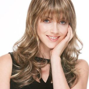 Women's Long Wavy Layered Synthetic Wig By Rooted