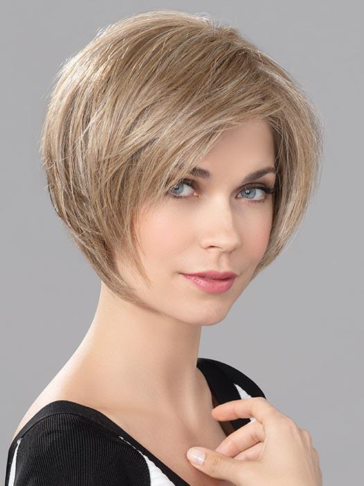 Women's Front Straight Blonde Human Synthetic Hair Blend Lace Front Wig