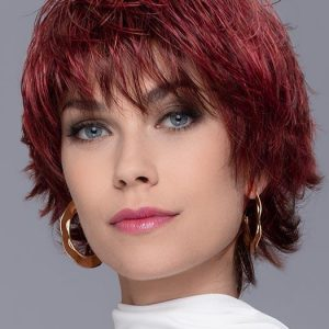 Women's Short Straight Brunette Synthetic Wig By Rooted