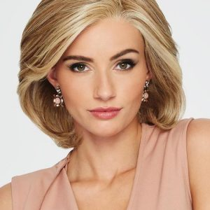 Mid-length Women's Straight Monofilament Bob Synthetic Lace Front Wig