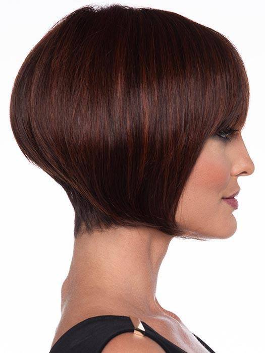 Women's Human Hair Synthetic Blend Short Straight Wig