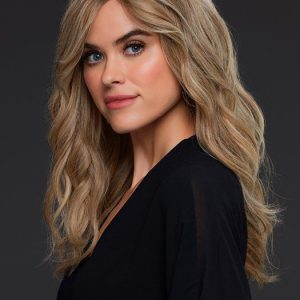 Women's Straight Monofilament Remy Human Hair Lace Front Wig Wavy