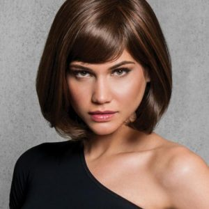 Mid-length Women's Hf Synthetic Wig Brunette By Rooted