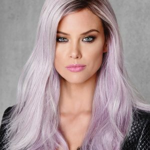 Women's Colored Long Straight HF Synthetic Wig