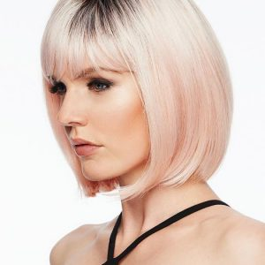 Short Women's Hf Synthetic Wig By Rooted