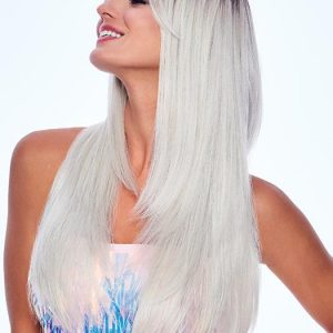 Women's Long Colored HF Synthetic Wig Straight